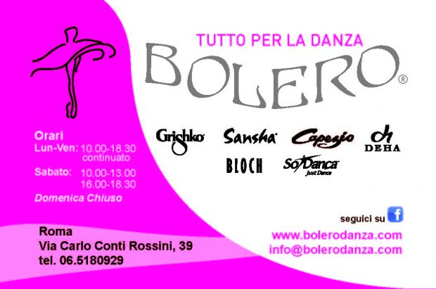 Dettagli Bolero per la Danza